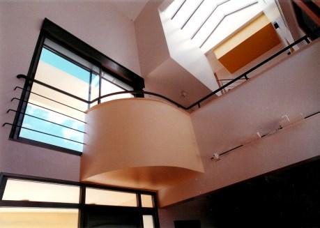 Interior balcony