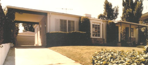 Original house from the street