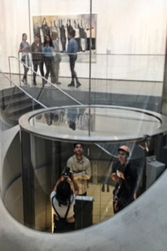 Ruth Meghiddo - The Broad - Elevator