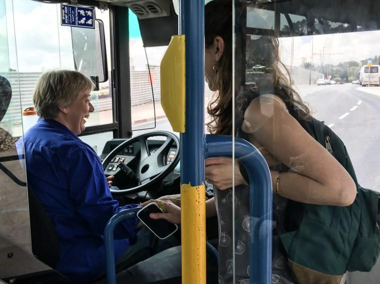 Bus Driver, Jerusalem, Rick meghiddo