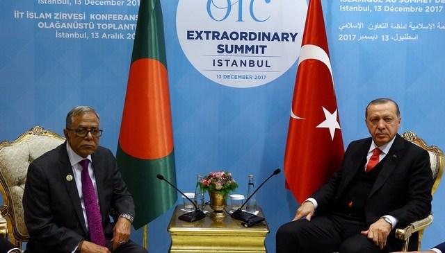 জেরুজালেম ইস্যুতে মুসলিম দেশগুলোর নিশ্চুপ থাকার সুযোগ নেই: রাষ্ট্রপতি