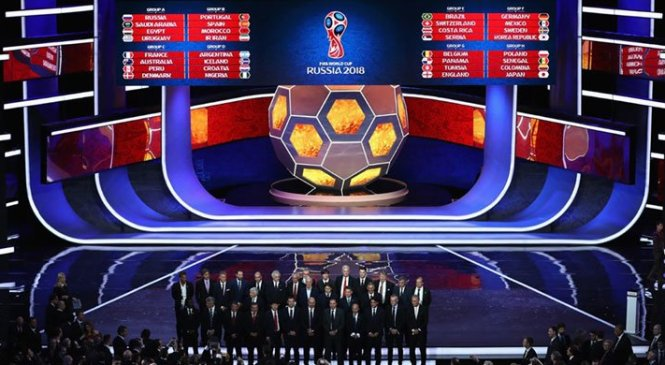 ২০১৮ বিশ্বকাপের চূড়ান্ত সময়-সূচি