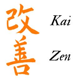 Kaizen Ideogrammi