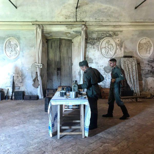 soldati a villa arconati