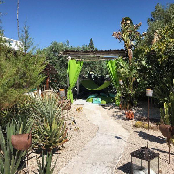 Il Giardino di Tex all'Hotel Su Gologone