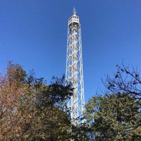Torre Branca vista dal Parco