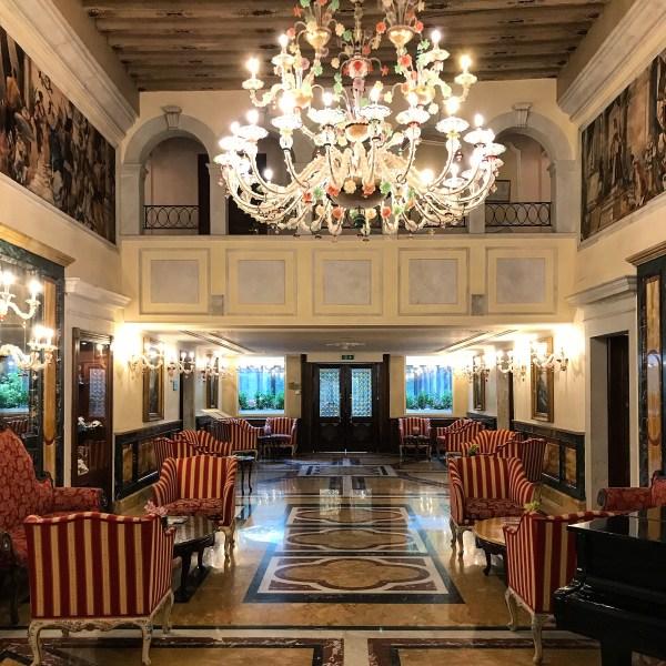 La hall del Grand Hotel Dogi Venezia