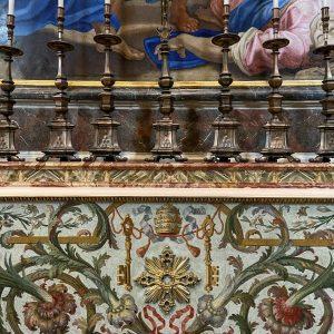 Mosaici nella Basilica San Pietro Roma