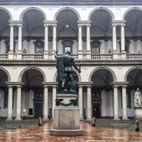 Visita Pinacoteca Brera quarantena