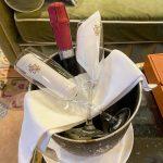 La bottiglia al Grand Hotel Tremezzo