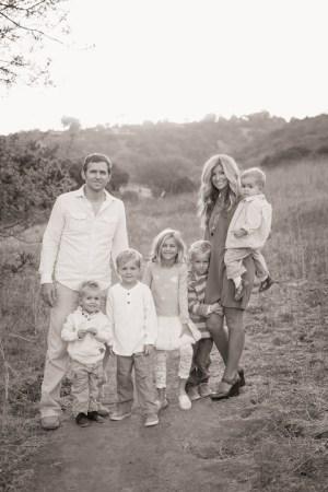 Wallace Family; One Glass Slipper; Fall photo shoot; canyon