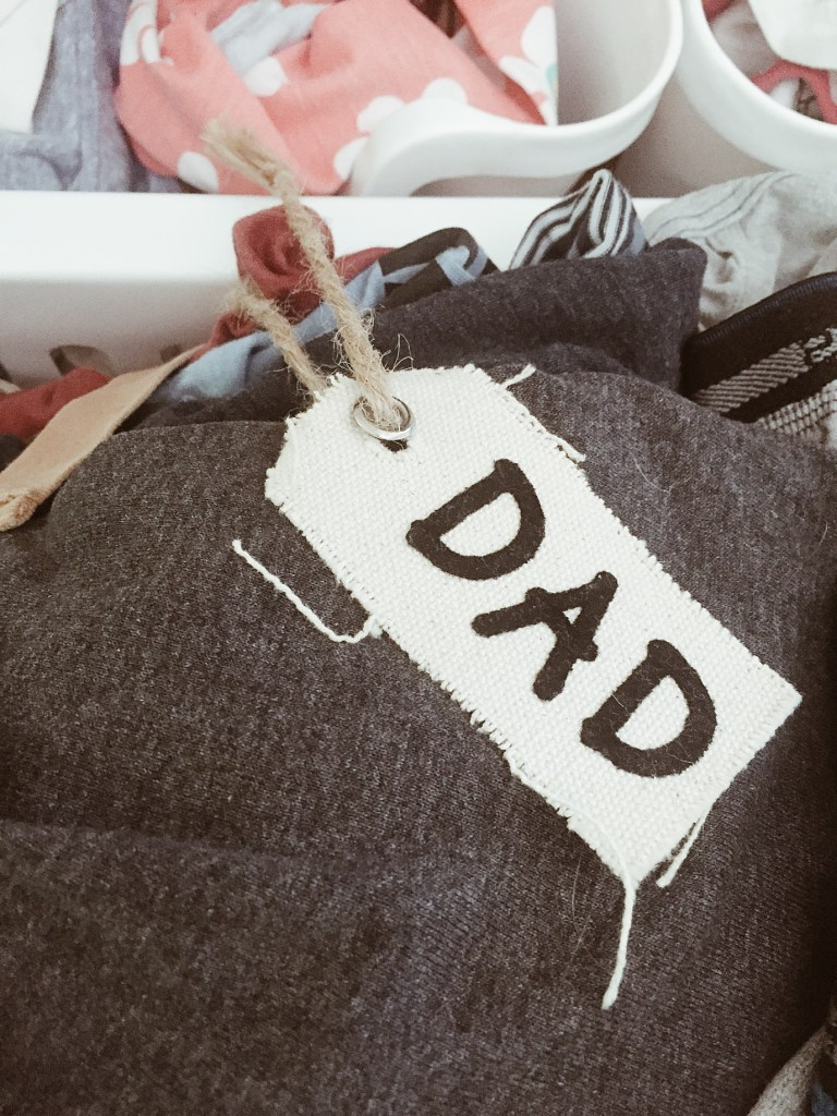 dad laundry bin
