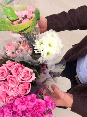 Saving Seats and Buying Flowers for my Daughters Ballet Recital|Meg Wallace|One Glass Slipper