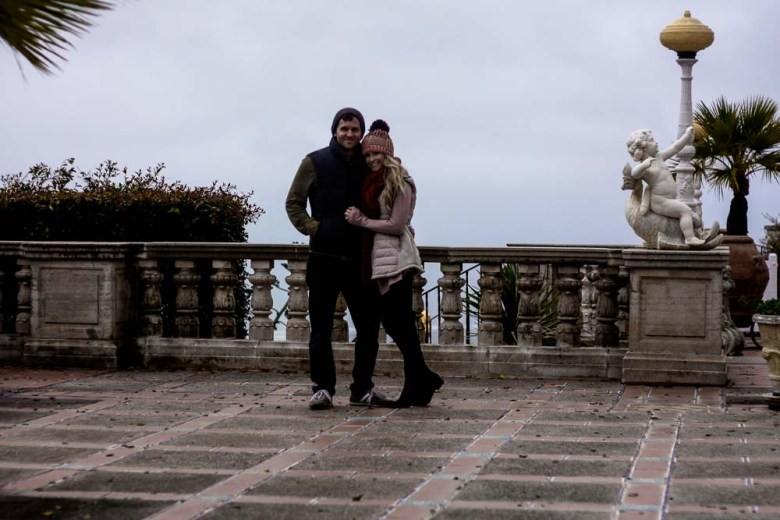 central coast getaway; meg marie wallace; heurst castle