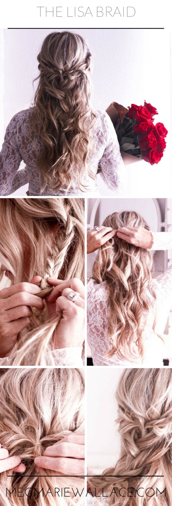 step by step tutorial for the lisa braid