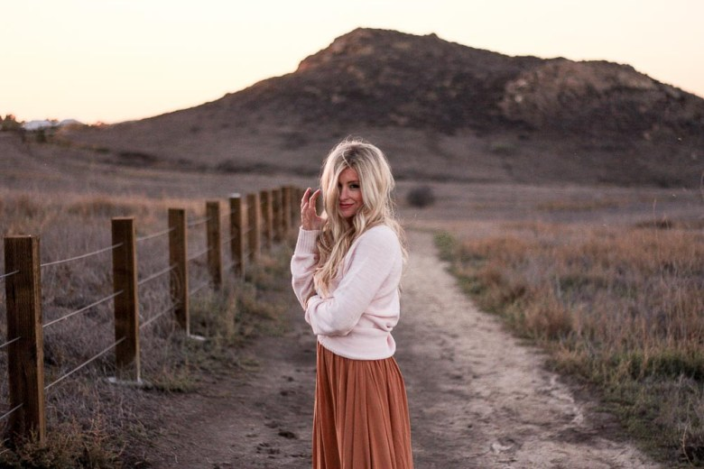 meg marie wallace pink sweater, Free People Dress