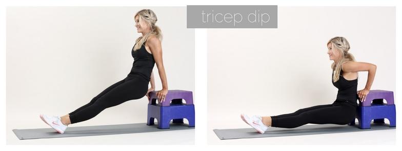 meg marie fitness | tricep dips