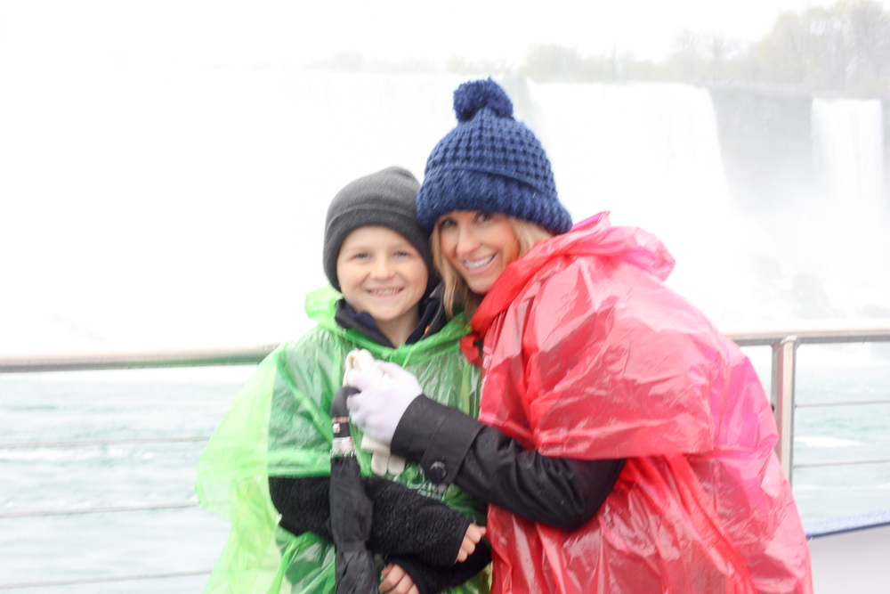 maid of the mist boat ride | niagara falls | most instagrammable locations