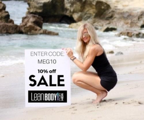 Lean Body 10% off | meg marie | sponsored athlete