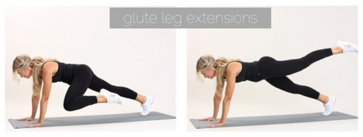 glute leg extensions