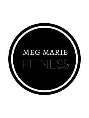 meg marie round black logo