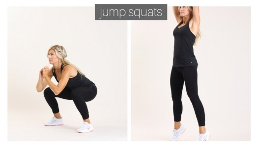 jump squats | meg marie fitness | fit for a purpose | 12 week workout plan