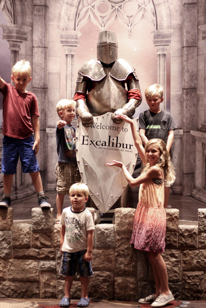 Medieval Times Show   excalibur resort and casino   vegas vacation   meg marie and family   2017