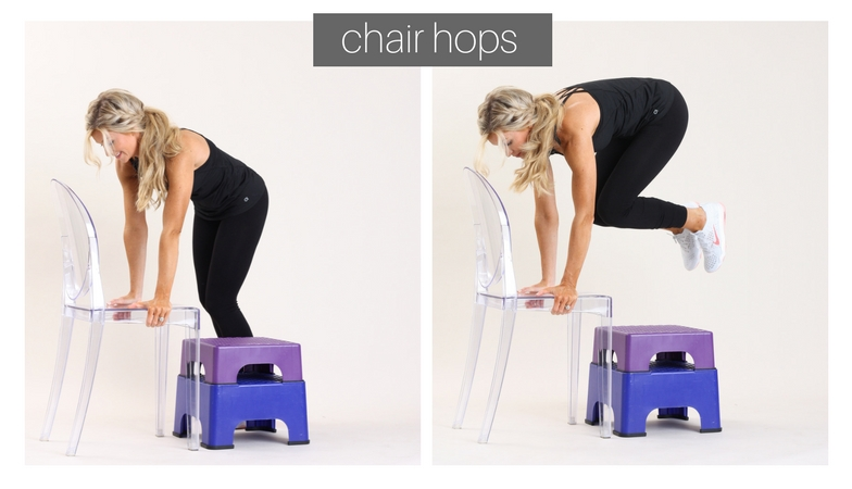 chair hops |week 10 | meg marie fitness | fit for a purpose