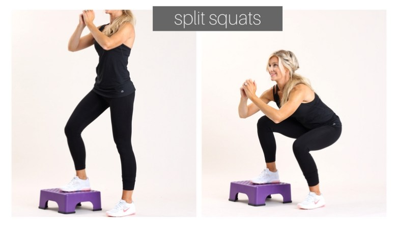 split squats | meg marie fitness | fit for a purpose