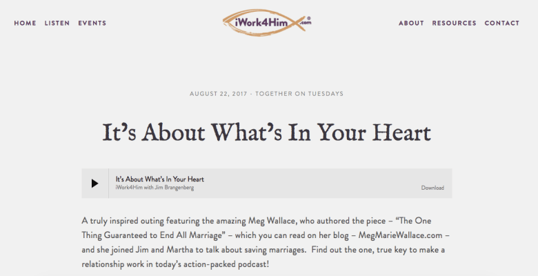 meg marie Wallace | press | media
