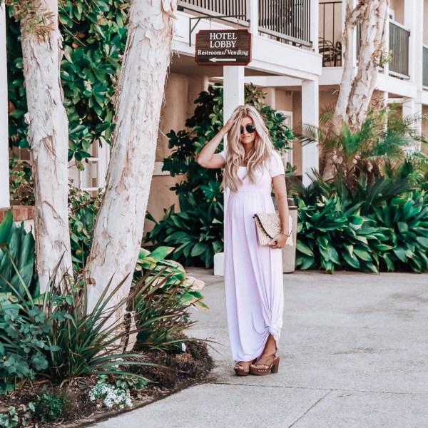 pink blush maternity | maternity clothes | maternity fashion | meg marie wallace