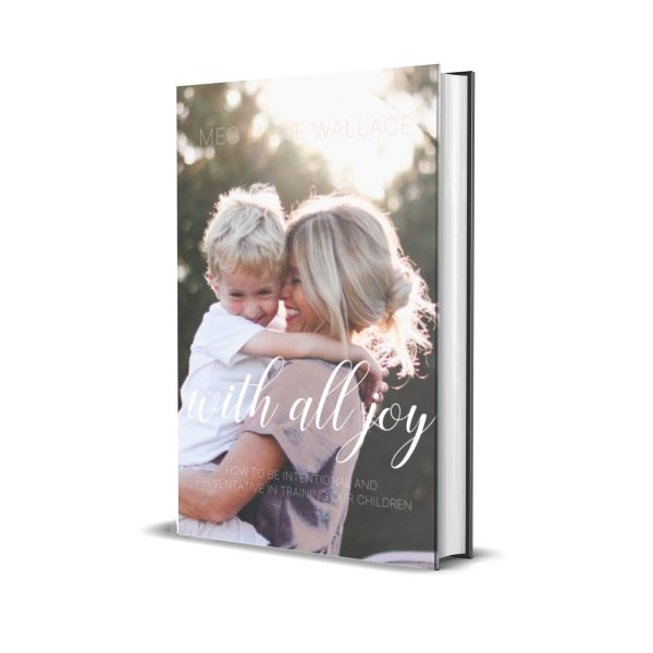 with all joy soft back | meg Marie Wallace | parenting ebook