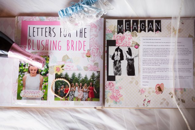 Letters For The Blushing Bride A Diy Gift Meg Miyoko