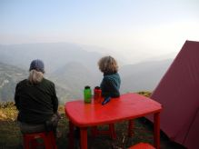 Dining on the edge….