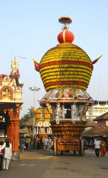 Just before the Udupi celebration honoring Shiva