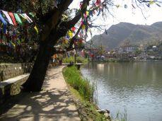 End Laksmanjula, Tso Pema, statue, caves, Tsering's class 077