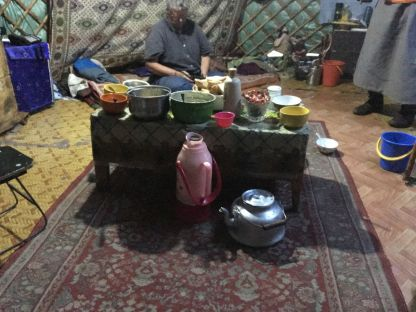 Tea and evening meal