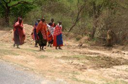 Masaii along the way….