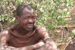 An elder in the Hadzabe tribe