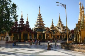 More of Shwedagon Pagoda