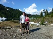 Jesse & Stephanie King, our new climbing buddies....