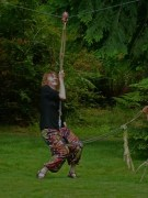 Here are some photos I just found of me on the zipline.