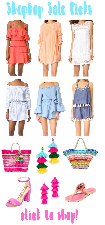 Shopbop Sale Picks || Spring + Summer Edition