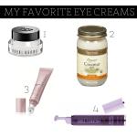 Skincare Sunday – My Favorite Eye Creams