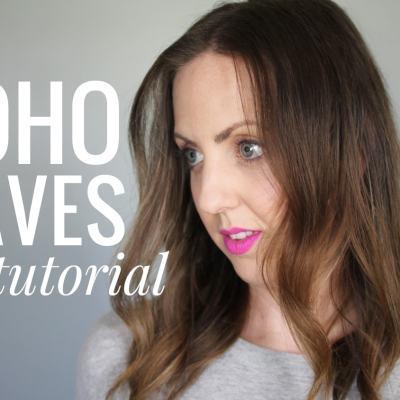 Boho Waves Hair Tutorial