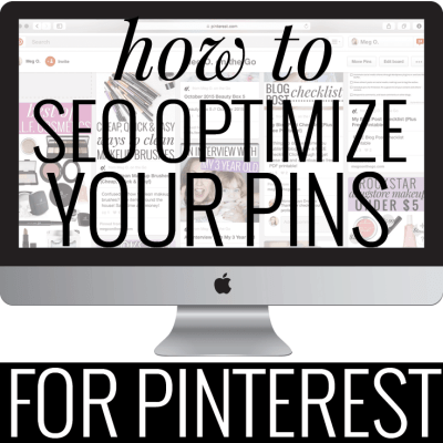SEO for Pinterest
