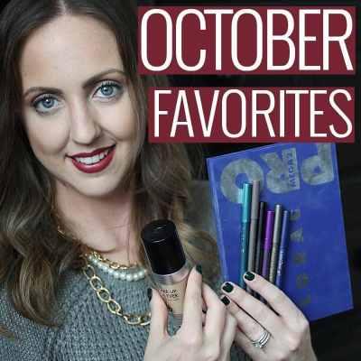 October 2015 Beauty Favorites