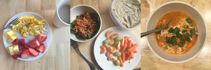 what I ate on Whole30 day 8