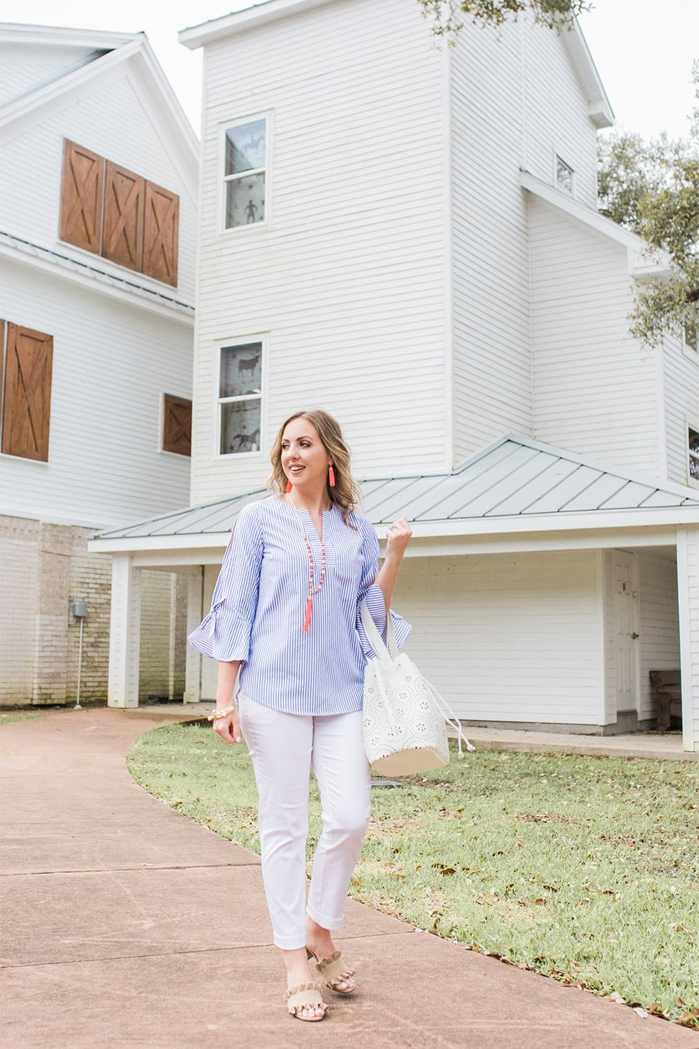Houston blogger Meg O. on the Go shares a perfect spring outfit from the Avon Modern Southern Belle Collection