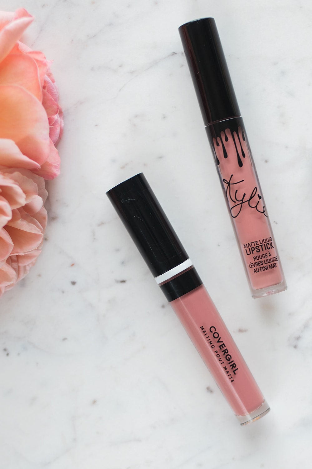 Popular Houston beauty blogger Meg O. on the Go shares a Kylie Cosmetics Koko K Dupe